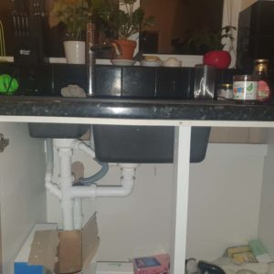 Plumber Longwell Green kitchen sink plumbing pipes
